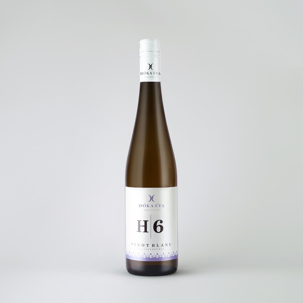 Dóka Éva H6 hordós érlelésű zalai Pinot Blanc